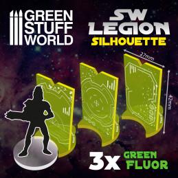SW Legion Silhouette - Fluor Green