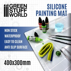 Silicone Painting Mat 400x300mm