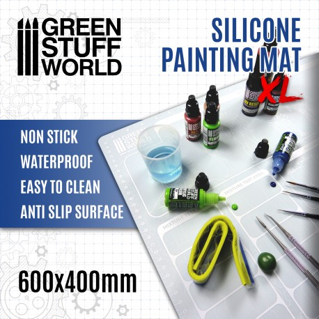 Silicone Painting Mat 600x400mm