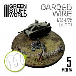Stacheldraht - Barbed Wire - 1/65-1/72 (20mm)