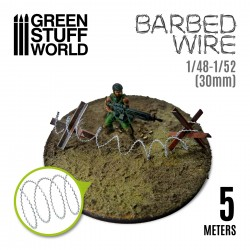 simulated BARBED WIRE - 1/48-1/52 (30mm)