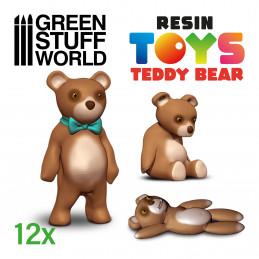 Teddy Bear Resin Set