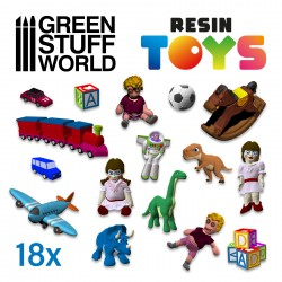 Children Toys Resin Set