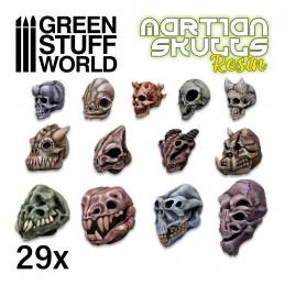 Crânes d'aliens