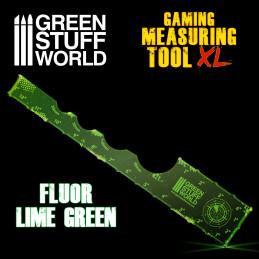Gaming-Messwerkzeug - Fluor Lime Green 12 Zoll