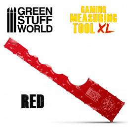 Mesureur Gaming - Rouge 12 pouces