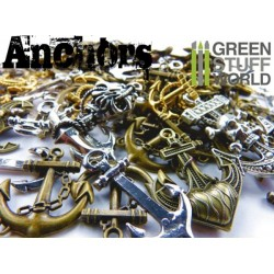 SteamPunk ANCHOR Beads 85gr