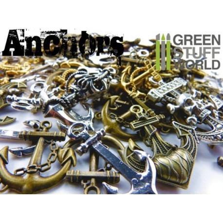 Set SteamPunk ANCLAS 85 gr.