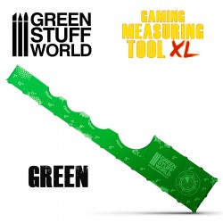 Gaming Measuring Tool - Green 12 inches