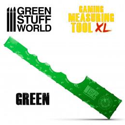 Gaming-Messwerkzeug - Grün 12 Zoll