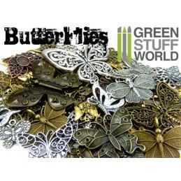 BUTTERFLIES Beads 85gr