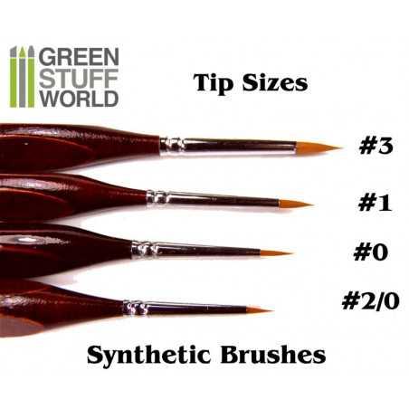 Synthetische Haarpinsel 3