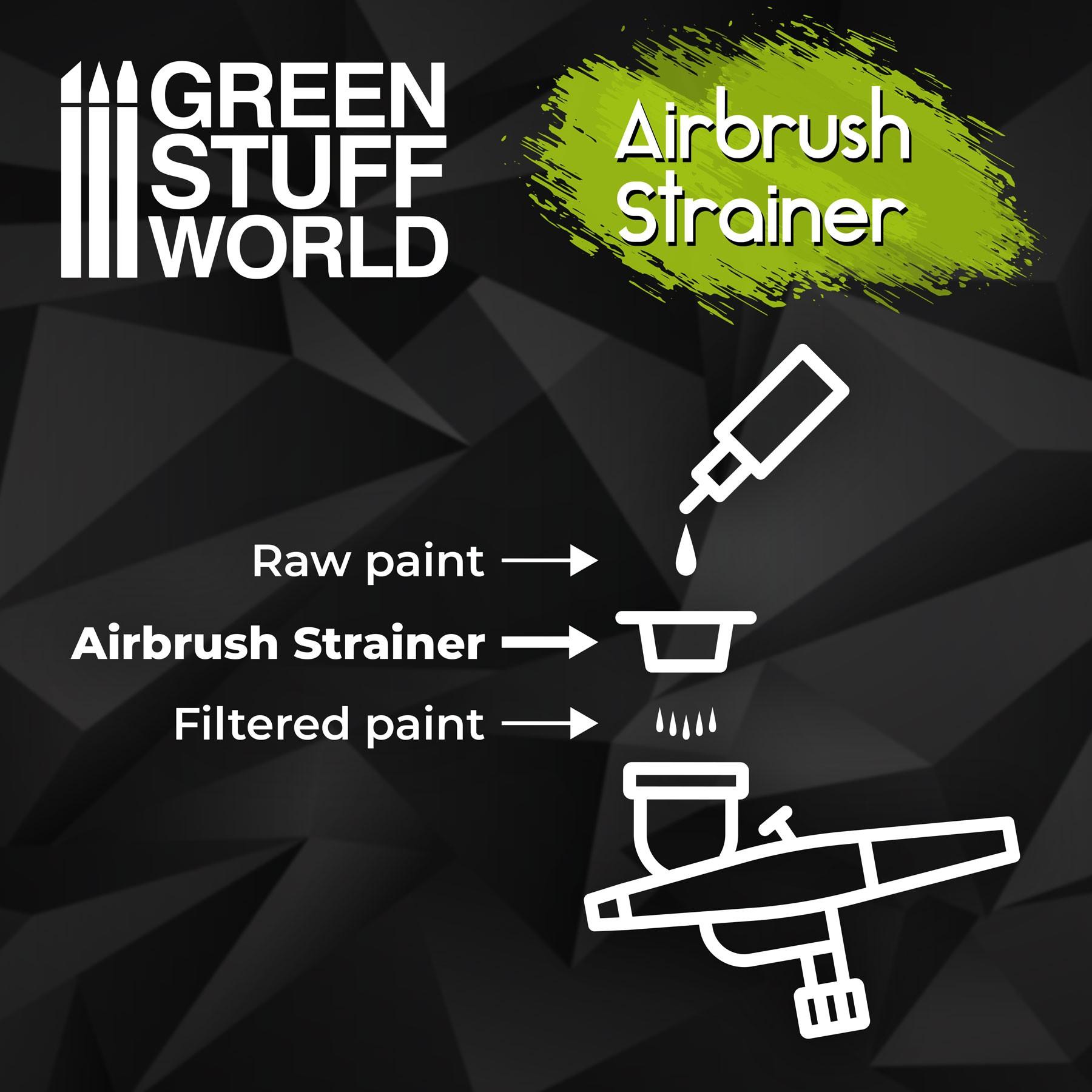 airbrush-strainers
