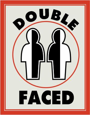 double-faced