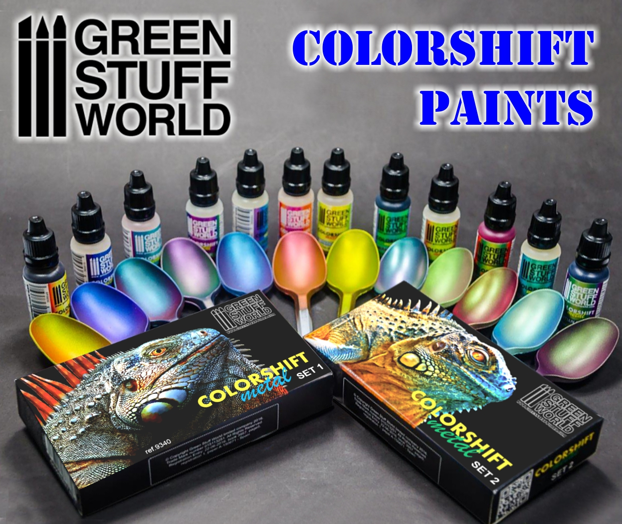 Colorshift Chameleon Paint Set