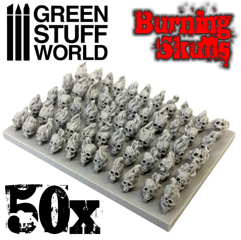 resin-skulls
